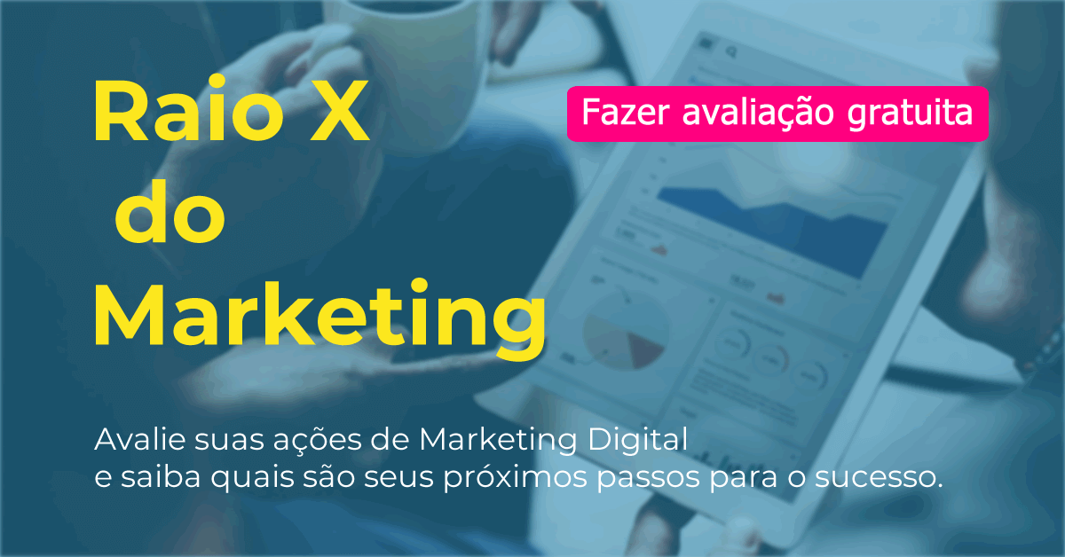 Acessar o Raio X do Marketing
